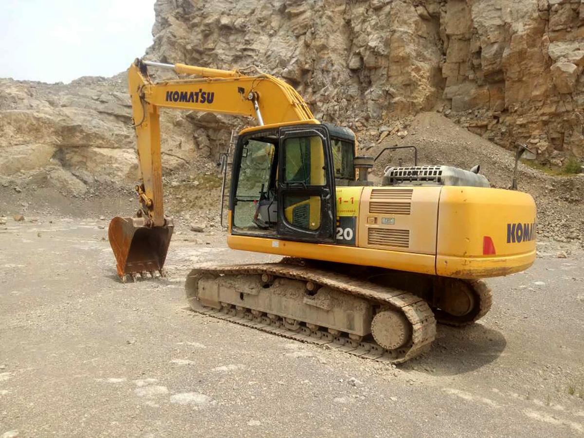 小松挖掘机PC220-8M0_2018年出厂1767小时