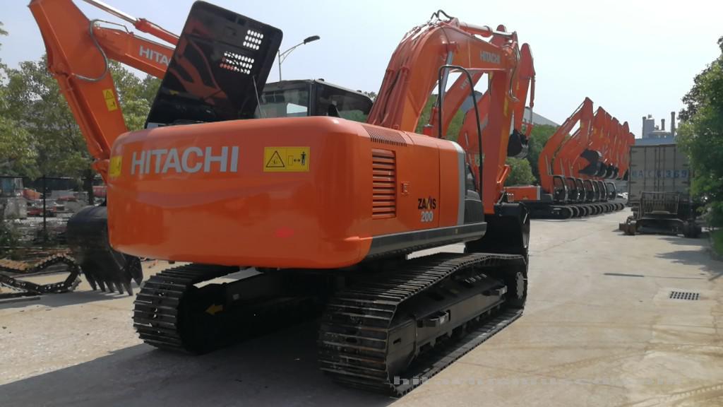 日立挖掘机ZX200-3_2019年出厂2小时