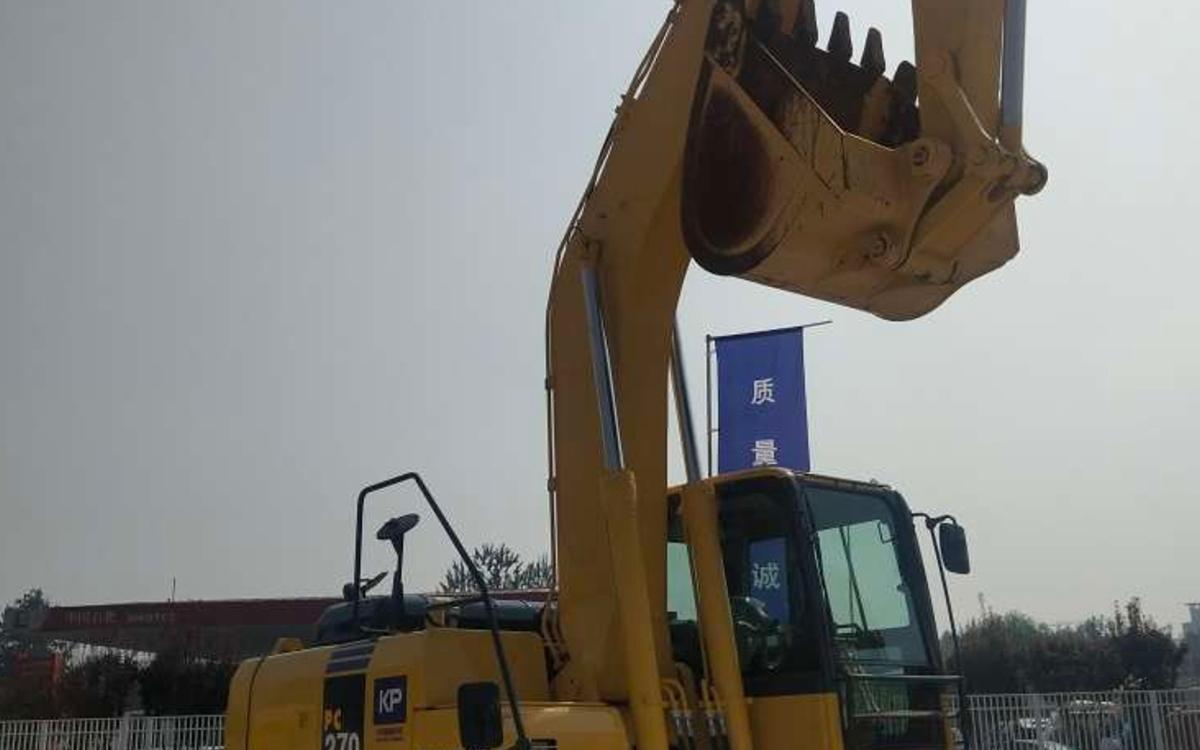 小松挖掘机PC270-8_2018年出厂883小时