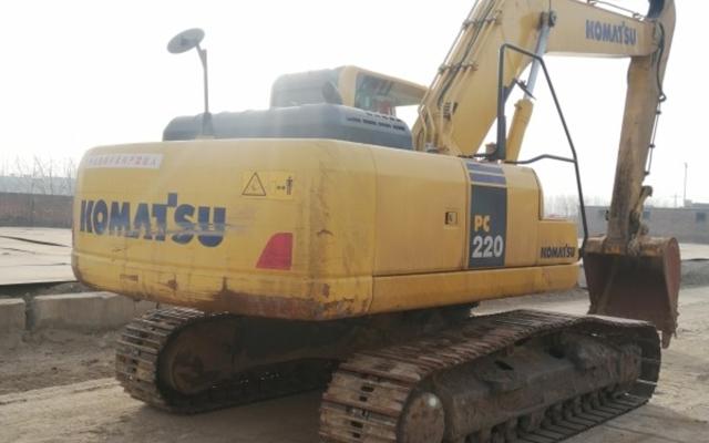 小松挖掘机_高端循环机_PC220-8M0