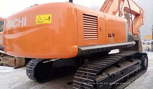 日立挖掘机ZX330-3_2020年出厂6小时