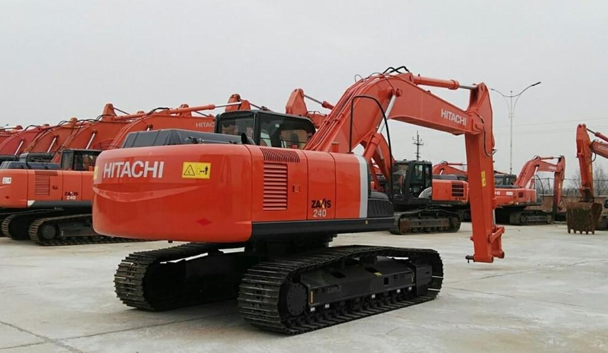 日立挖掘机ZX240-3_2019年出厂17小时