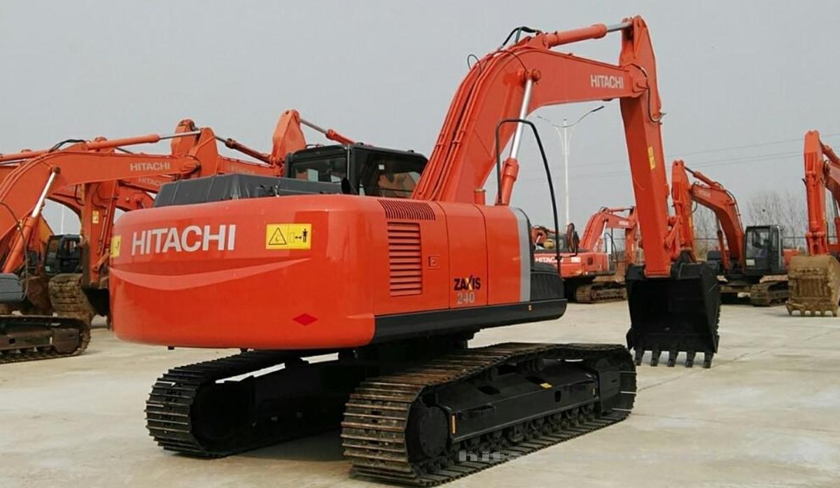 日立挖掘机ZX240-3_2020年出厂8小时
