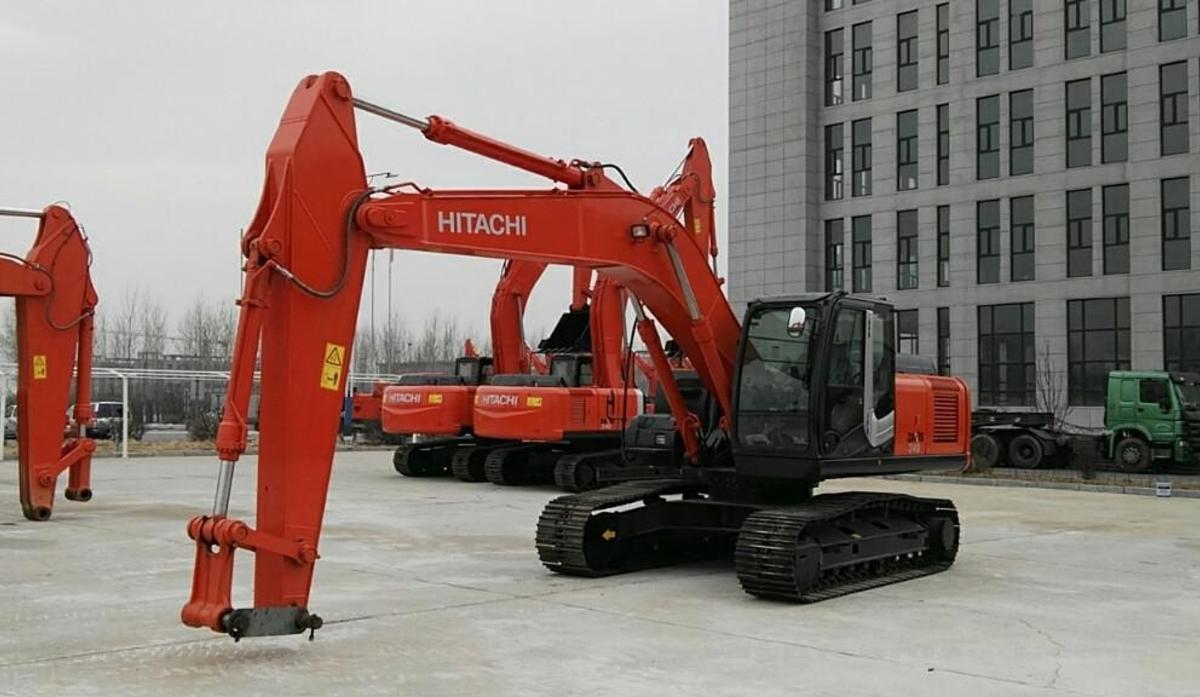 日立挖掘机_精品认证机_ZX240-3_2019年出厂8小时