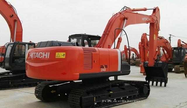 日立挖掘机_精品认证机_ZX240-3_2019年出厂6小时