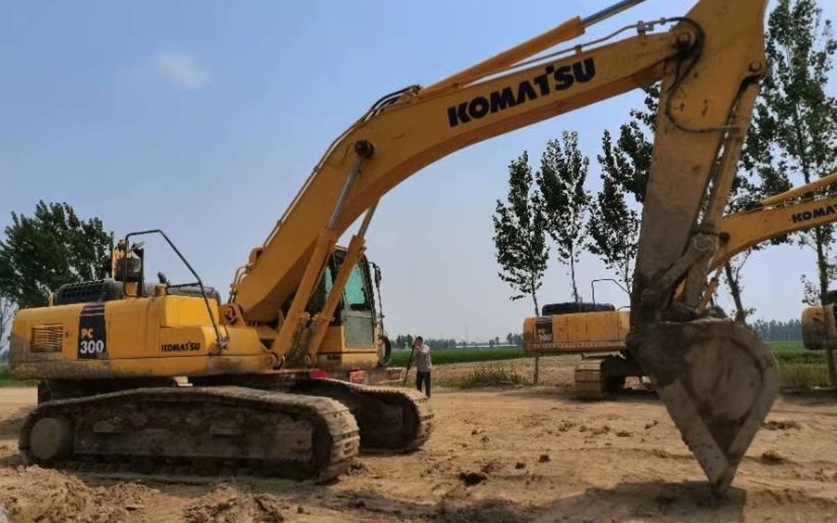 小松挖掘机PC300-8M0_2019年出厂1305小时