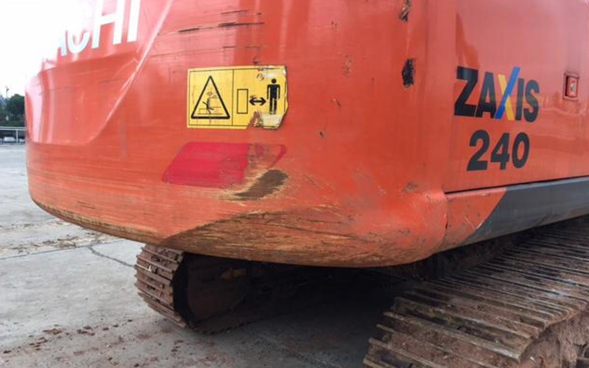 日立挖掘机ZX240-5A_2019年出厂1475小时