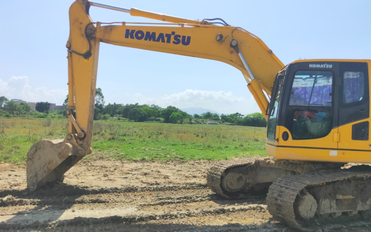 小松挖掘机PC200-8M0_2018年出厂2973小时