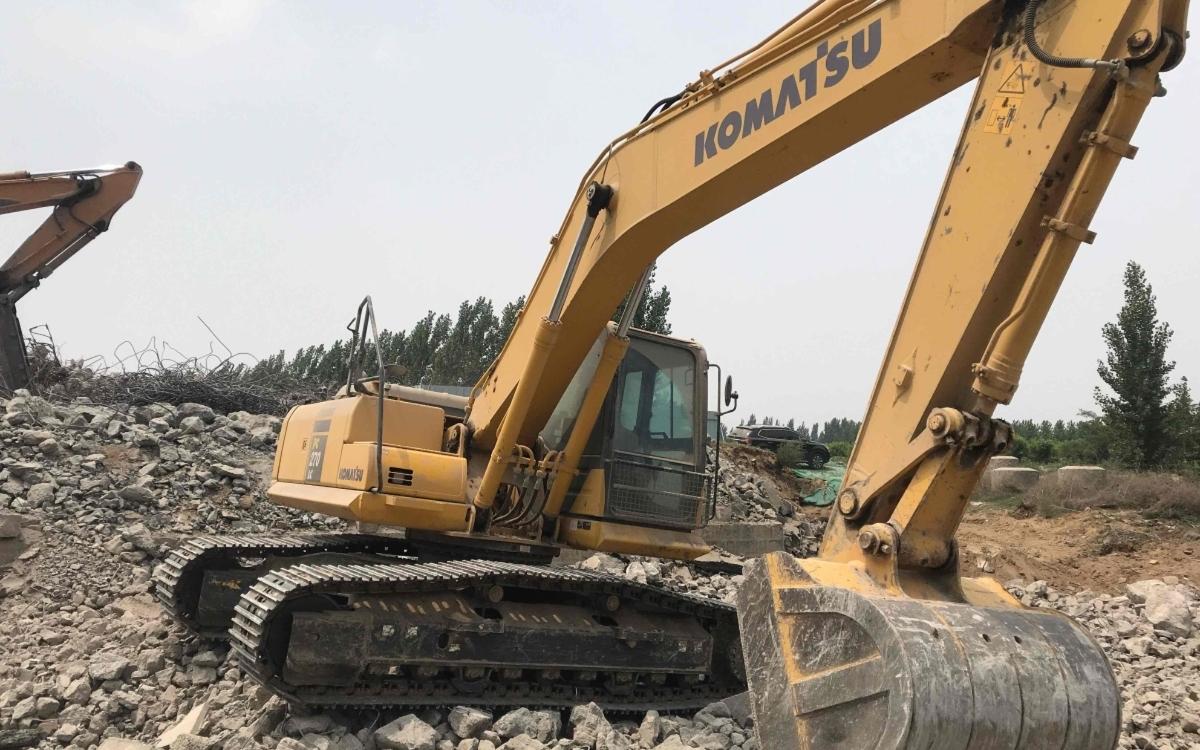 小松挖掘机PC215LC-10M0_2019年出厂1978小时
