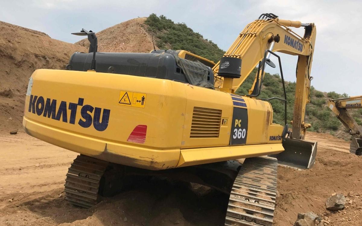 小松挖掘机PC300-8M0_2019年出厂1340小时