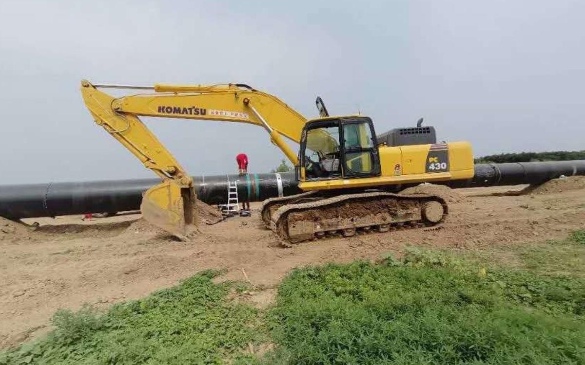 小松挖掘机PC430-8_2019年出厂586小时