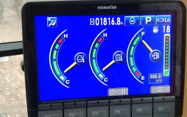 小松挖掘机PC200-8M0_2019年出厂1816小时