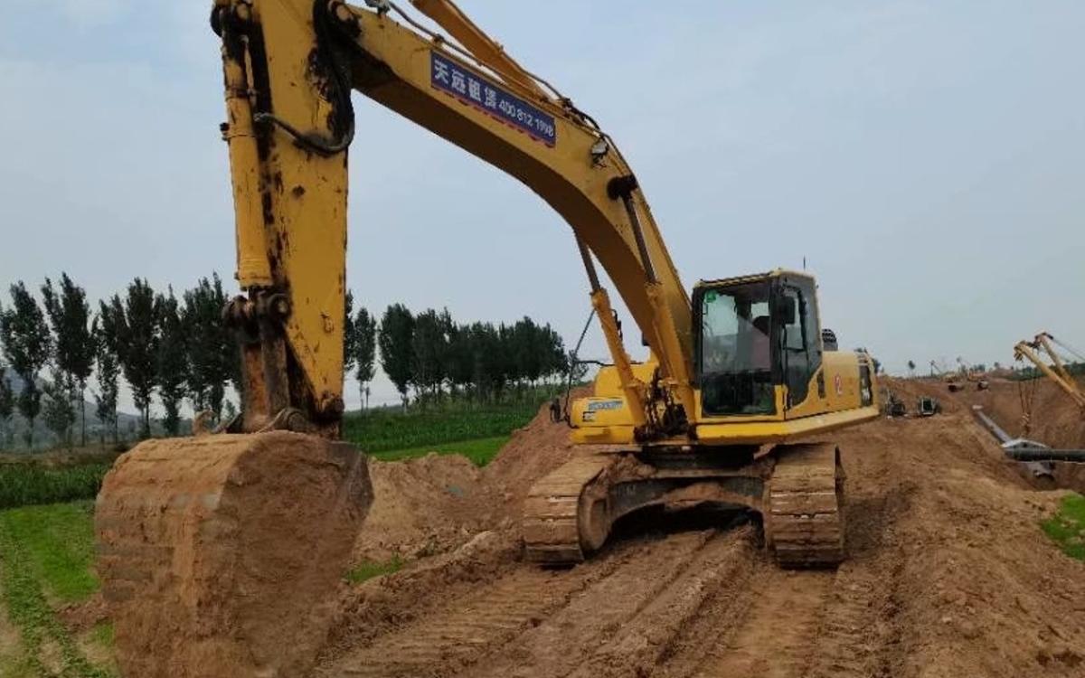 小松挖掘机PC300-8M0_2018年出厂4162小时