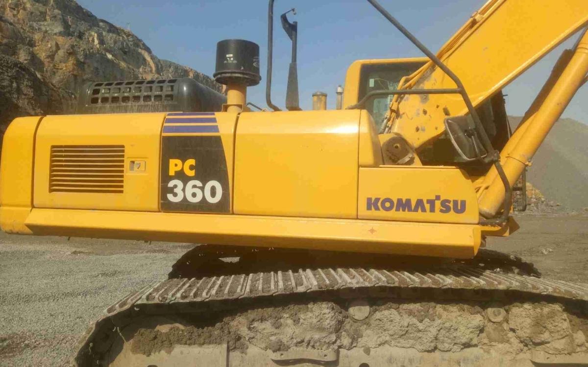 小松挖掘机PC360-8M0_2019年出厂3747小时