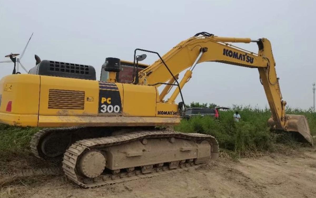 小松挖掘机PC300-8M0_2019年出厂1127小时