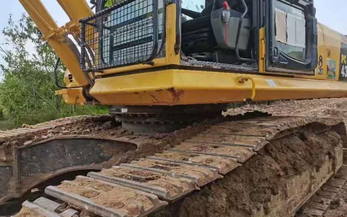 小松挖掘机PC430-8_2019年出厂4994小时