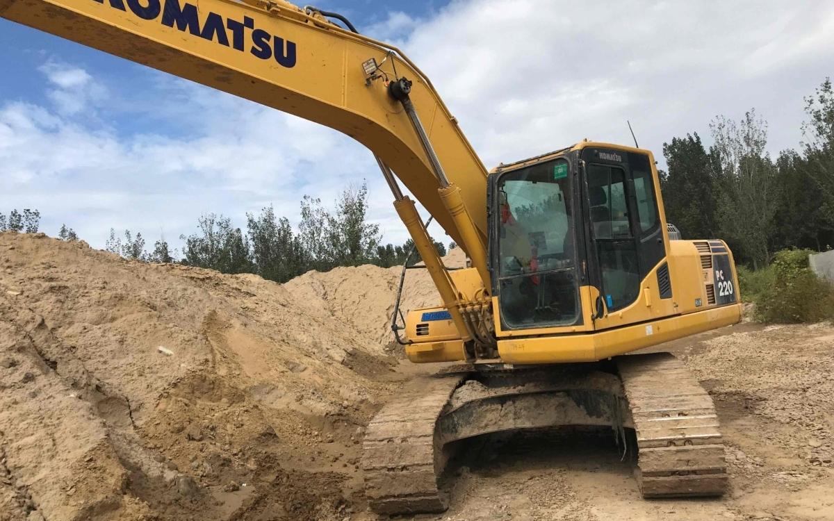 小松挖掘机PC200-8M0_2018年出厂3342小时