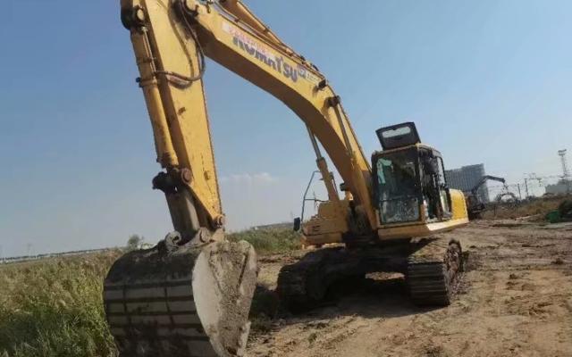 小松挖掘机PC300-8M0_2018年出厂3202小时