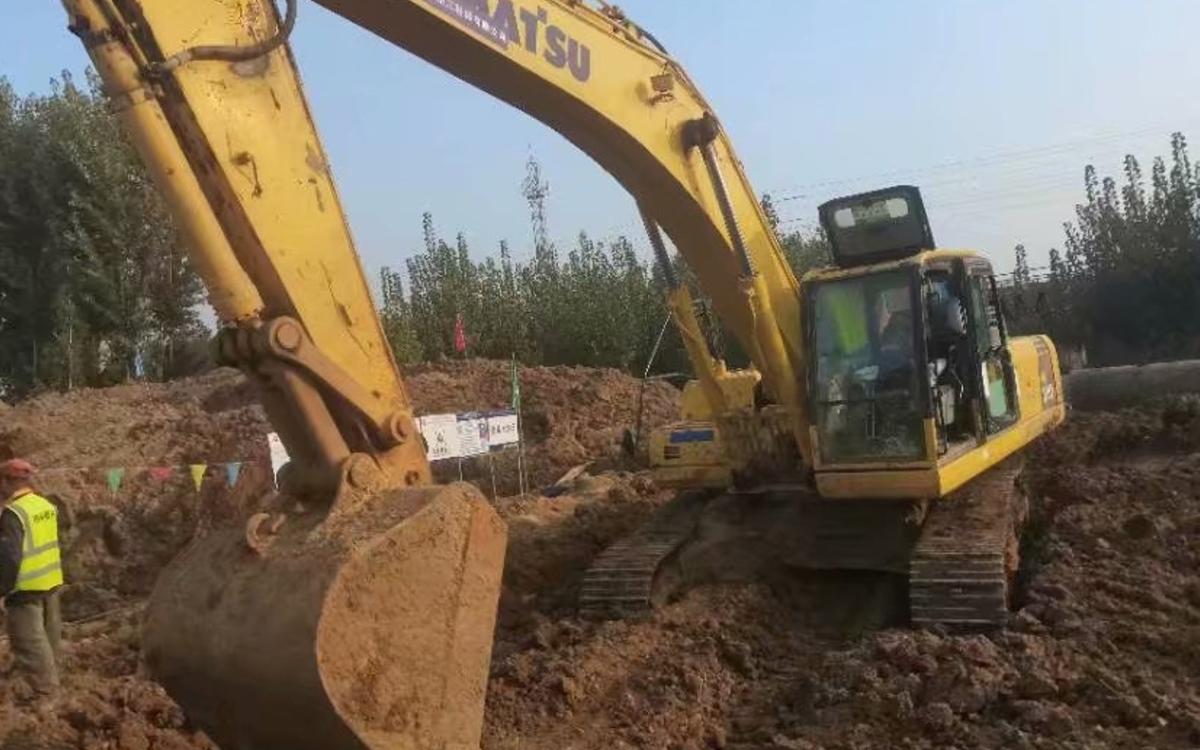 小松挖掘机PC300-8M0_2018年出厂3884小时