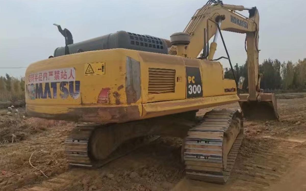 小松挖掘机PC300-8M0_2018年出厂2814小时