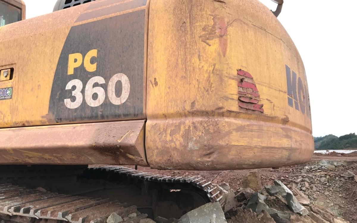 小松挖掘机PC360-8M0_2019年出厂3819小时