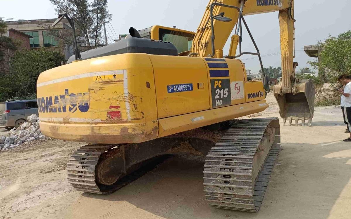小松挖掘机PC215HD-10M0_2020年出厂2333小时