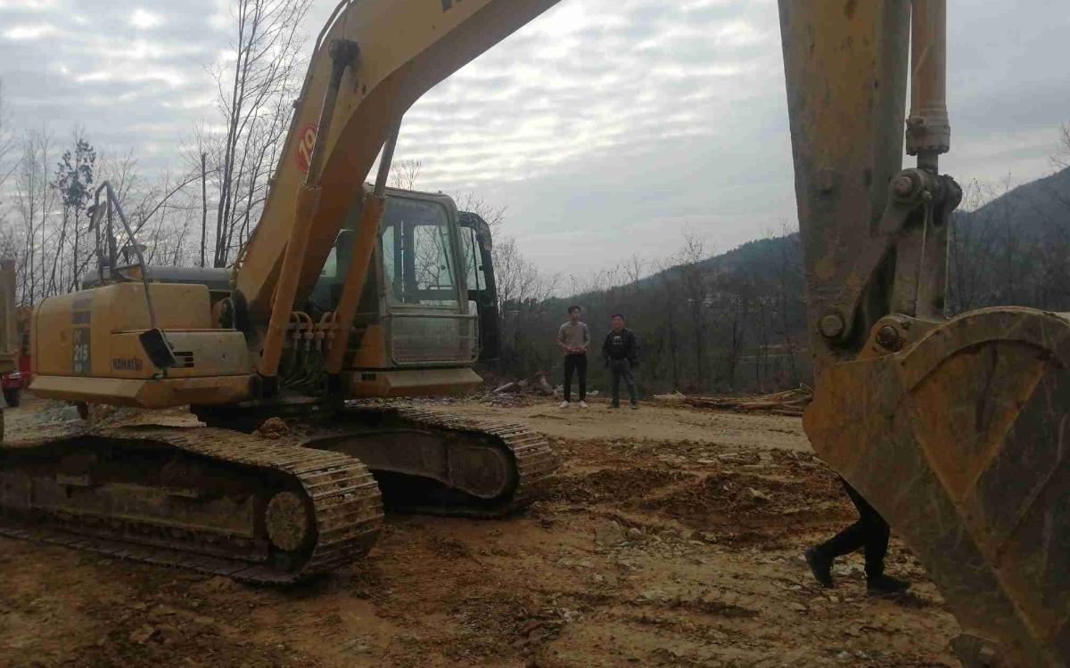 小松挖掘机_高端循环机_PC215HD-10M0_2020年出厂3073小时