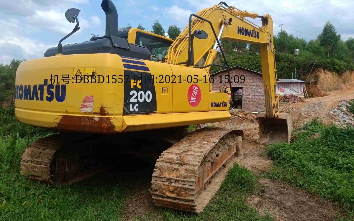 小松挖掘机PC200LC-8M0_2020年出厂757小时