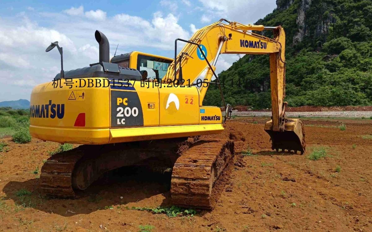 小松挖掘机PC200LC-8M0_2020年出厂1643小时