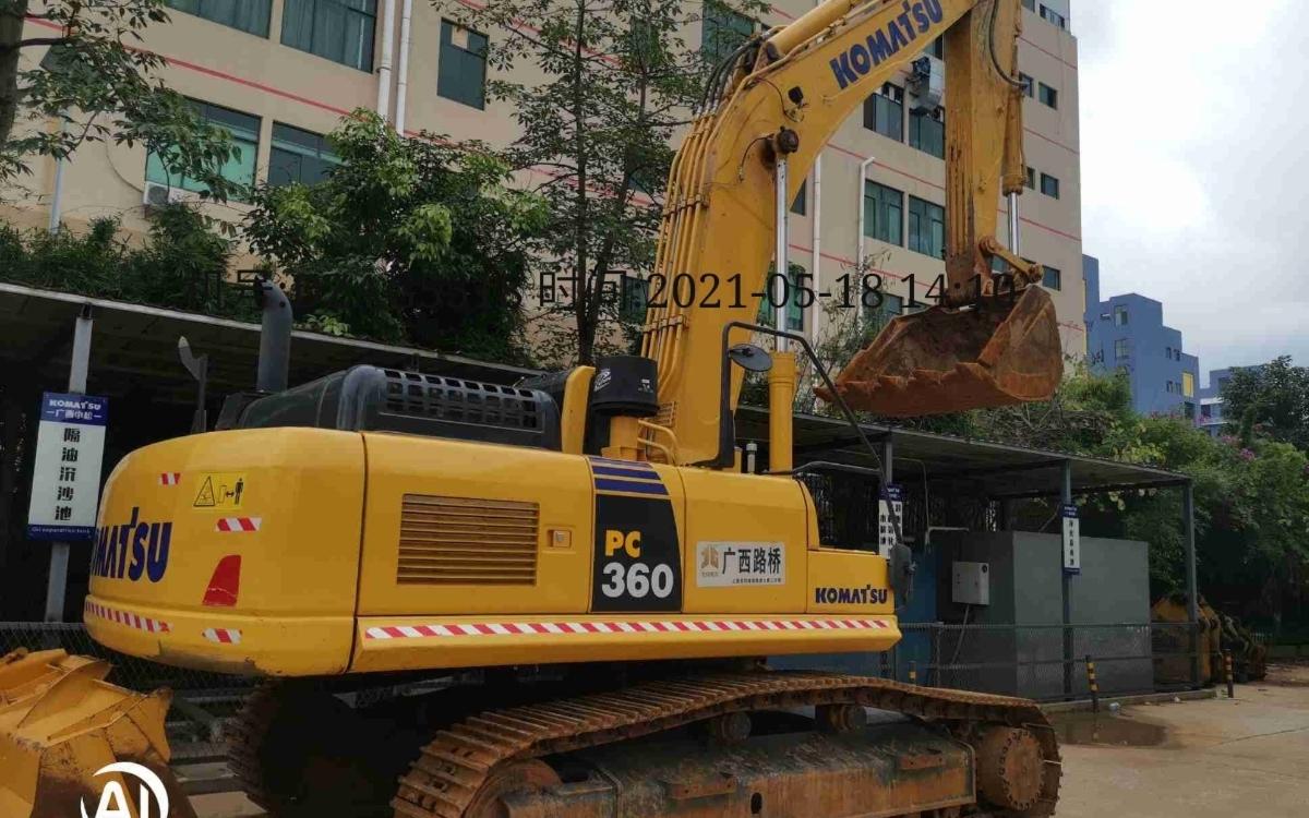 小松挖掘机_高端循环机_PC360-8M0_2020年出厂1761小时