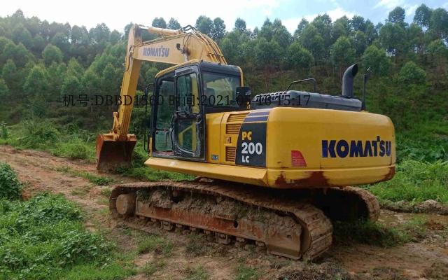 小松挖掘机_高端循环机_PC200LC-8M0_2020年出厂743小时