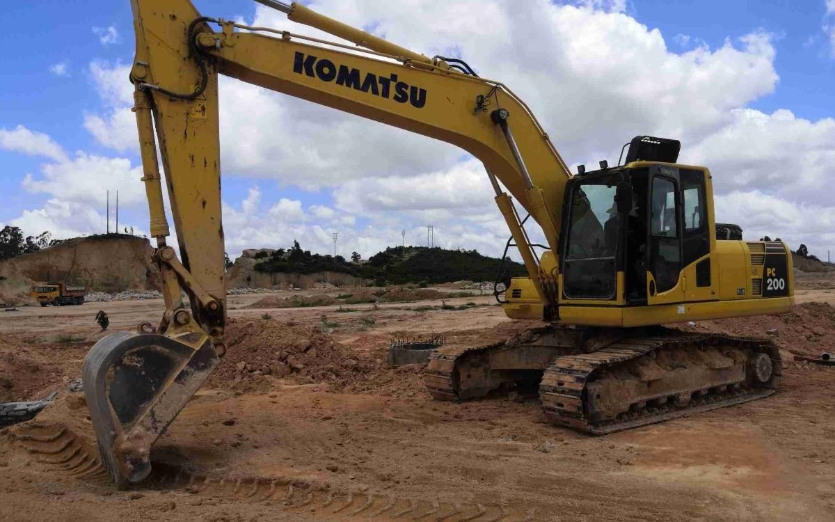小松挖掘机PC200-8M0_2020年出厂1362小时