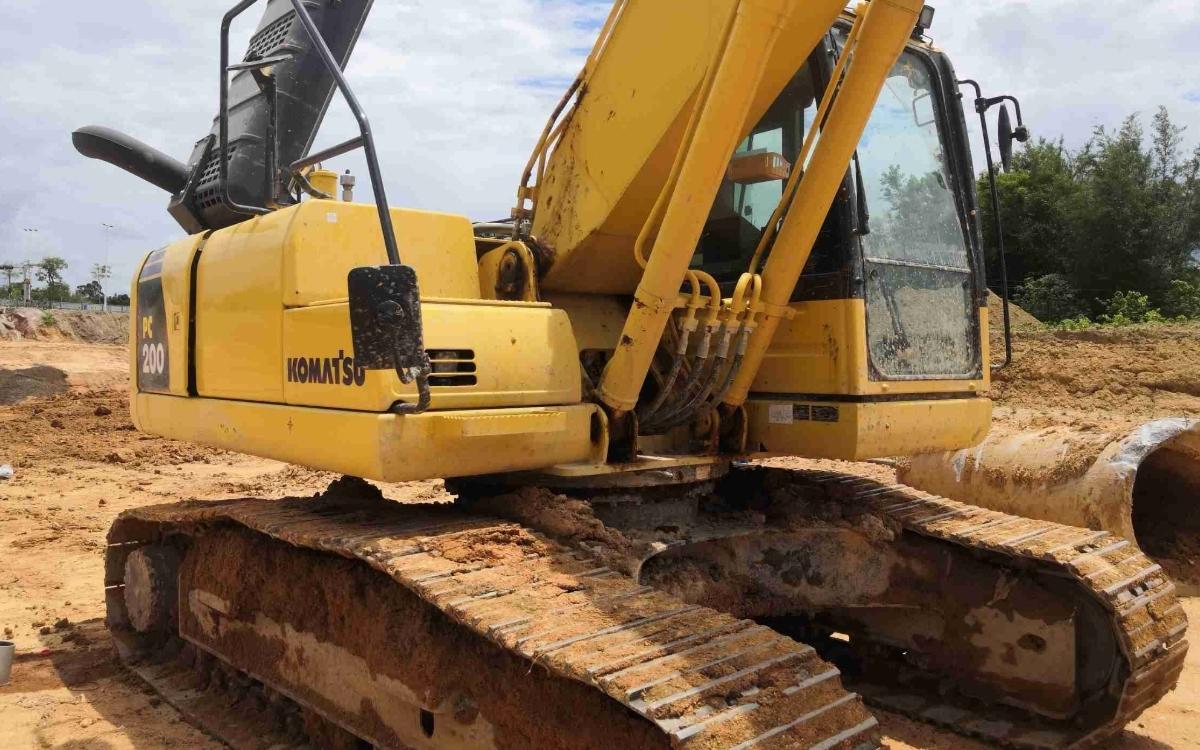 小松挖掘机_高端循环机_PC200-8M0_2020年出厂1192小时