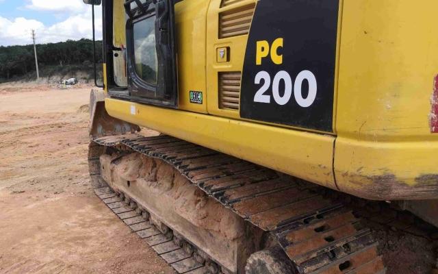 小松挖掘机_高端循环机_PC200-8M0_2020年出厂1362小时
