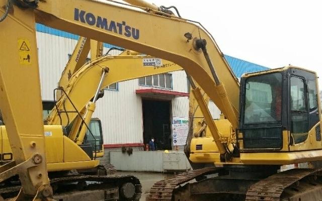 小松挖掘机_认证整备车_PC200-8
