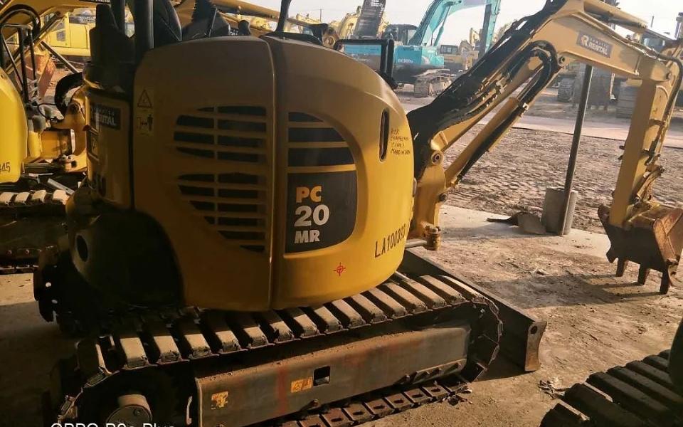 小松挖掘机PC20MR-3_2012年出厂676小时