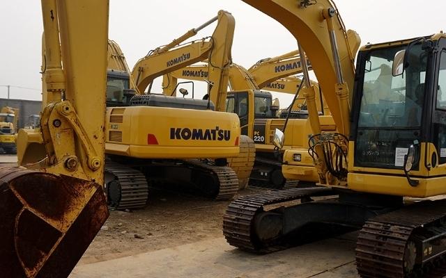 小松挖掘机PC120-8