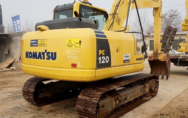 小松挖掘机PC120-8_2012年出厂1851小时
