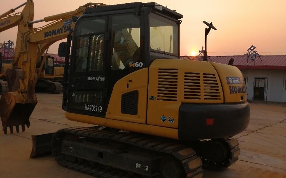 小松挖掘机PC60-8_2019年出厂1341小时