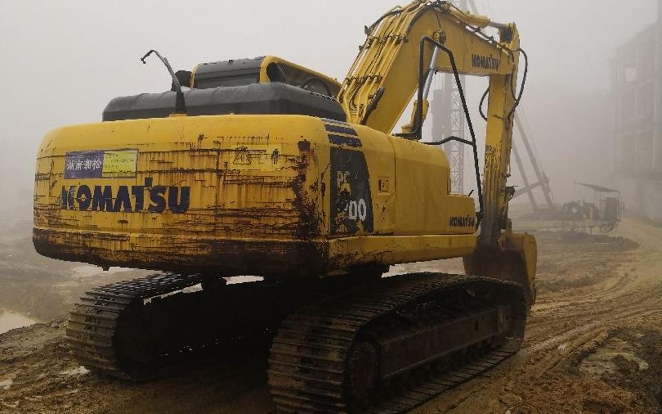小松挖掘机PC200-8_2011年出厂5402小时