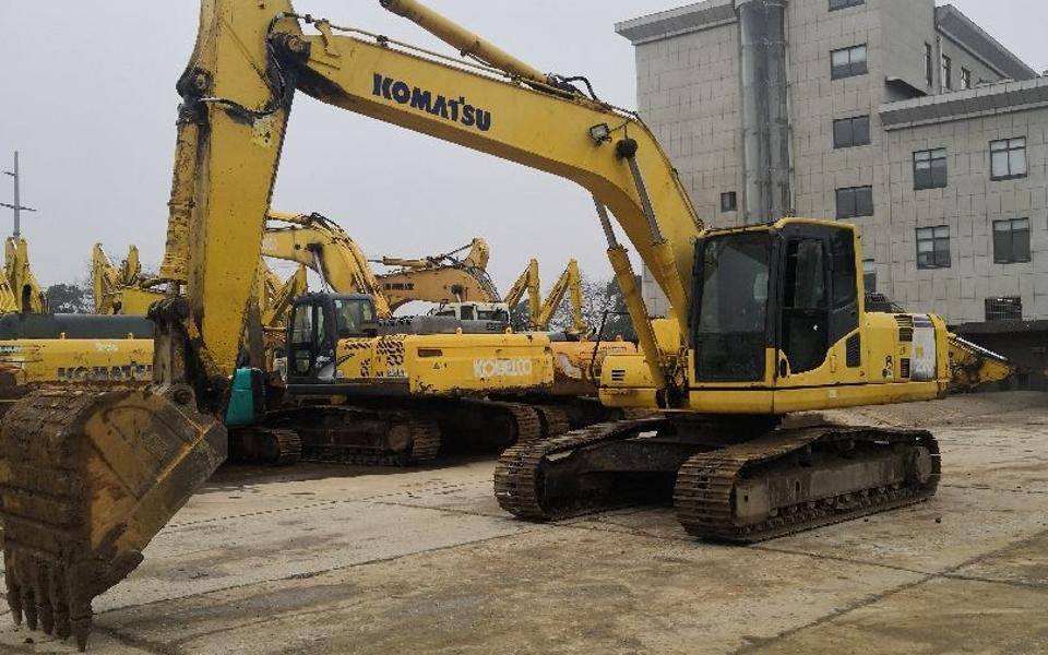 小松挖掘机PC220-8_2009年出厂9650小时