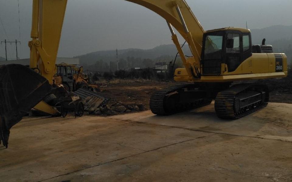 小松挖掘机PC360-7_2010年出厂15559小时