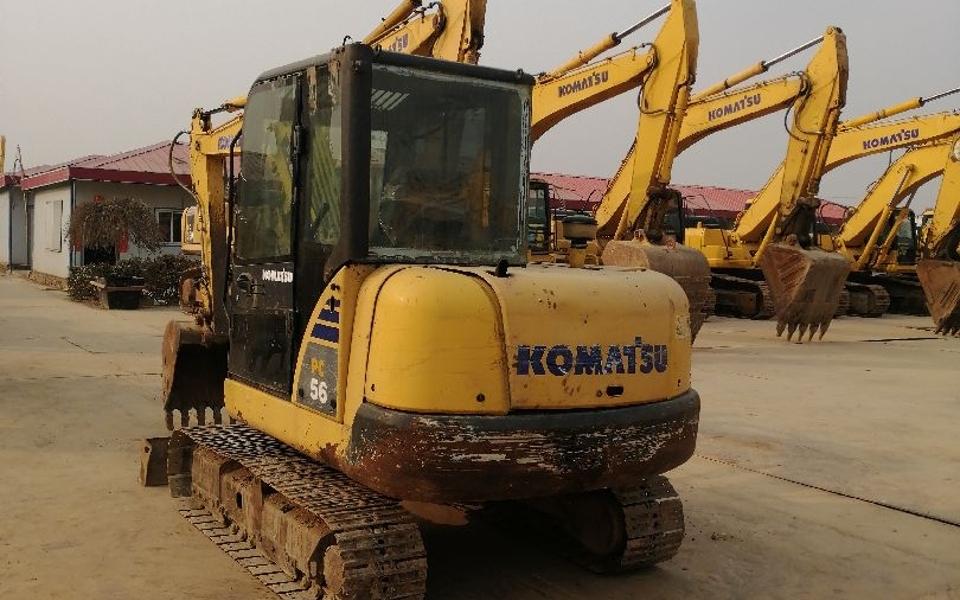 小松挖掘机PC56-7_2011年出厂7348小时