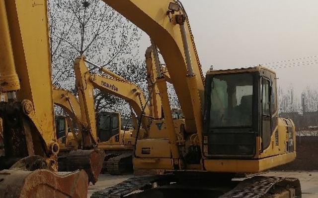小松挖掘机_认证整备车_PC220-8