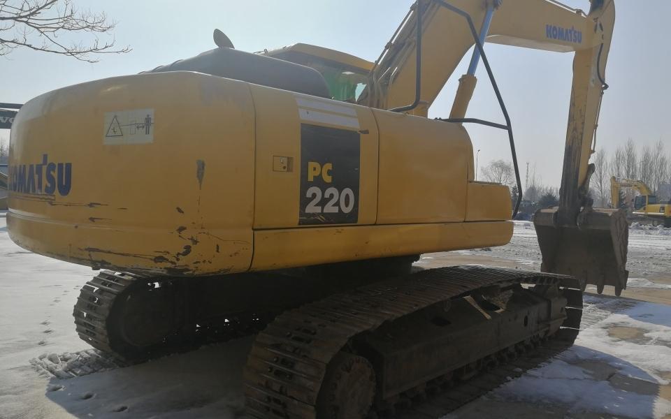 小松挖掘机PC220-7_2007年出厂12281小时