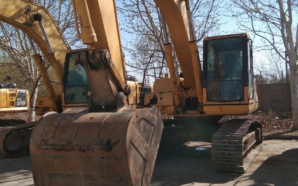 小松挖掘机PC200-8_2008年出厂12760小时