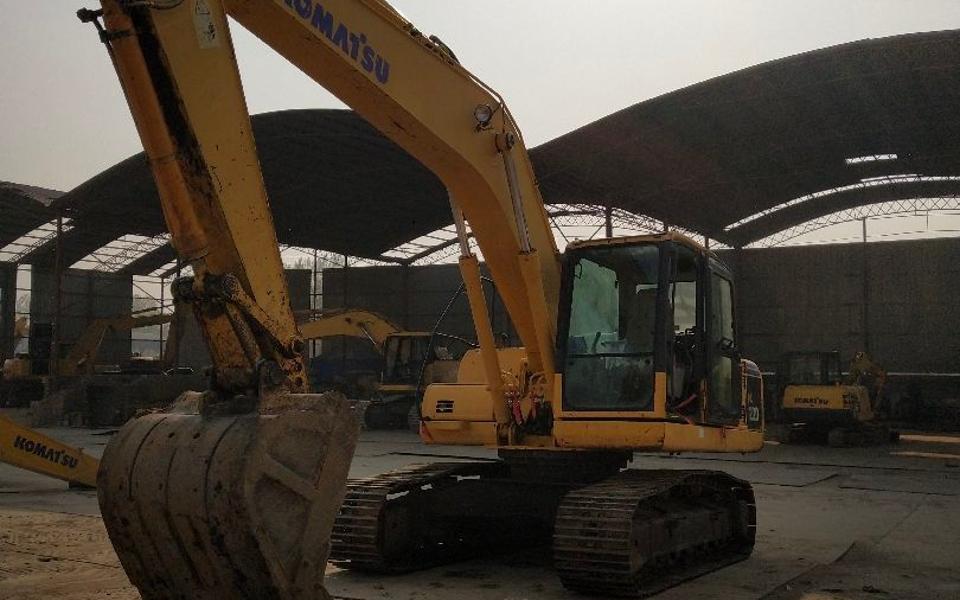 小松挖掘机PC200-8_2009年出厂9322小时