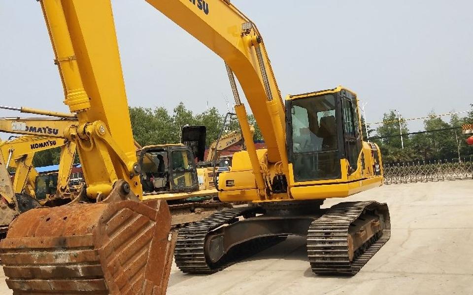 小松挖掘机PC220-8_2011年出厂14027小时