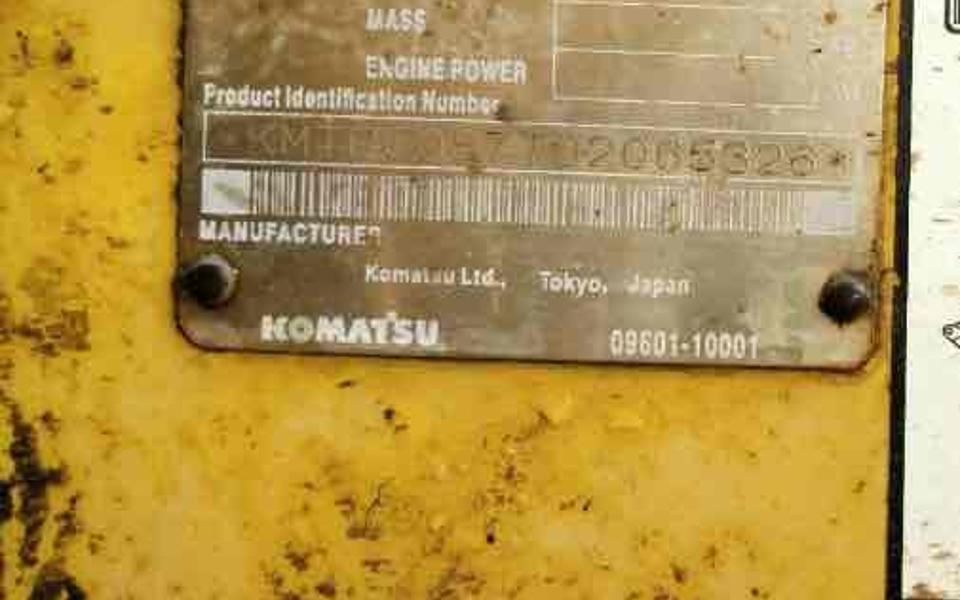 小松挖掘机PC450-7_2009年出厂4304小时