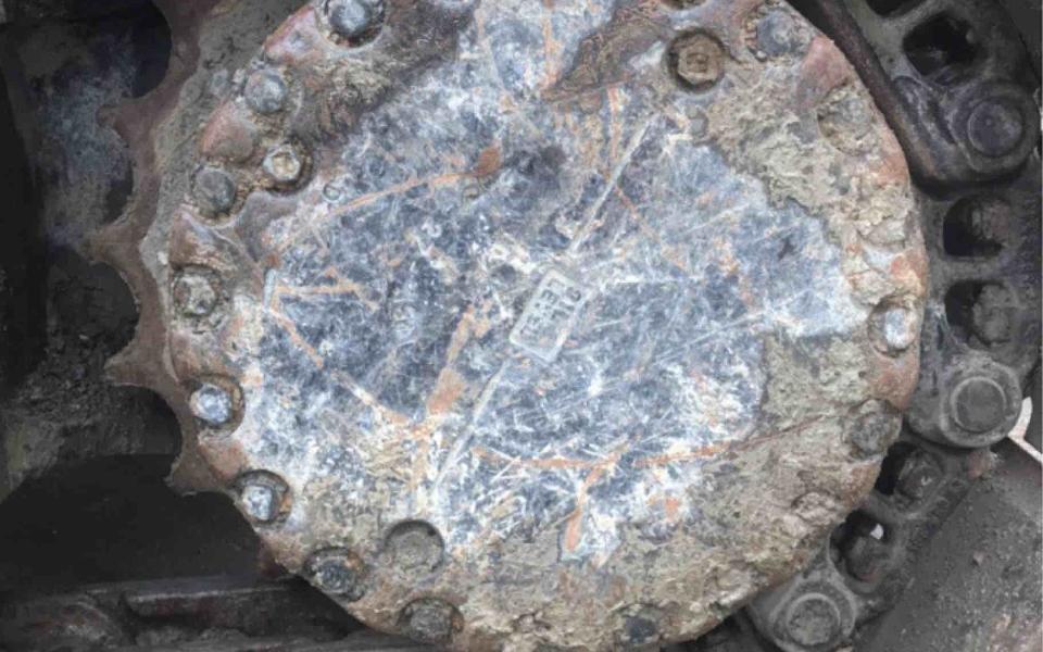 小松挖掘机PC360-7_2013年出厂12724小时